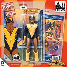 SUPER FRIENDS SERIES 2; BLACK VULCAN  8 INCH ACTION FIGURE NEW MOSC