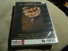 "DVD NEUF ""ACADEMIE DU SPECTACLE EQUESTRE"" Bartabas"
