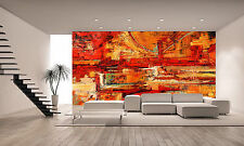 Abstract Painting Wall Mural Photo Wallpaper GIANT DECOR Paper Poster Free Paste