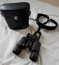 Vintage Kenko 7X35 Field 6.5 deg Binoculars USED #25436 with case