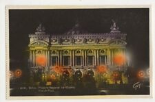 France, Paris, Theatre National de l'Opera, La Nuit RP Postcard, B366