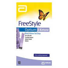 Abbott FreeStyle Optium Blood Ketone Test Strips - 10 Pack