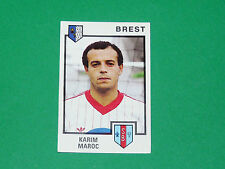 N°56 KARIM MAROC STADE BRESTOIS BREST PANINI FOOTBALL 85 1984-1985
