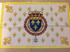DRAPEAU français royaume de france royal roi fleur lys flag bandiera roi 60x40cm