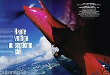 Coupure de Presse Clipping 2000 (6 pages) Equipe de france de Voltige