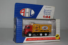 AHL HARTOY DIECAST MACK STAKE BED TRUCK, PENNZOIL OIL, 1:64 HO SCALE
