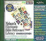Nelson's Electronic Bible Reference Library: 3 Books Unlocked Thomas Nelson CD-