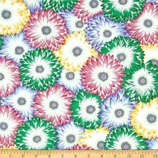 CLEARANCE! Philip Jacobs Floating World Serenity Chrysanthemum Carpet BTY