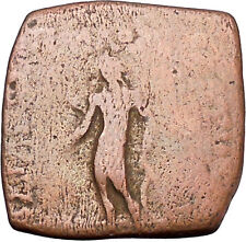 Apollodotos I 174BC Baktrian Indo Greek King of India Apollo Ancient Coin i46920