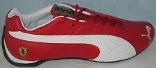 MEN'S PUMA FUTURE CAT LEATHER SF -10-  ROSSO CORSA/WHITE SHOES SIZE 8