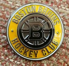 BOSTON BRUINS HOCKEY CLUB (double) Lapel Pin