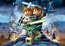 Lego Star Wars Poster Print A4 260gsm