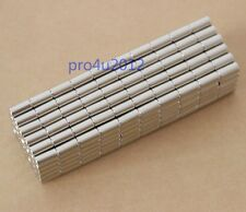 Lots 200pcs Strong Powerful Magnets Dia 3mm X 10mm Cylinder Rare Earth Nd-Fe-B