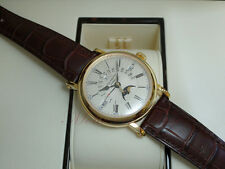 Patek Philippe 5159J Perpetual Calendar Retrograde Moonphase Officers 18kt Y/G