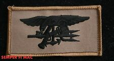 US NAVY SEAL TEAM COLLECTOR PATCH DESERT BROWN TEAM 1 2 3 4 5 6 8 10 FLAG MAY 1