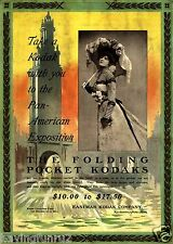 Take a Kodak with you to the Pan-American Exposition Poster 11 x 17 Giclee print