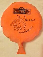 THE LION KING 1 1/2 (2004) Whoopee Cushion; Movie Promo; Timon, Pumbaa; Disney