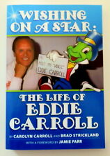 Wishing on a Star The Life of Eddie Carroll Disney's Jiminy Cricket Autographed