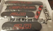 Peugeot 205 GTI-6  Reproduction Rear & Side Badge Set Complete Set