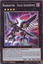 3x Raidraptor - Falco Ascendente YU-GI-OH! SECE-IT050 Ita COMMON 1 Ed.