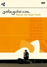 Justinguitar.com Master The Major Scale Learn to Play Using Guitar Music DVD