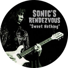 CHAPA/BADGE SONIC'S RENDEZVOUS BAND . pin button mc5 rationals stooges detroit