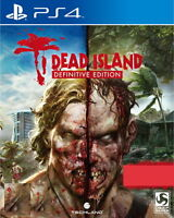 New Sony PS4 Dead Island Definitive Edition Hong Kong Version English Subtitle