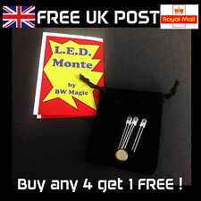LED Monte by BW Magic - Close-Up Light Magic Trick (like 3 Card Monte) - NEW