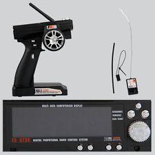Flysky FS-GT3B 2.4G 3CH Transmitter + Receiver for RC Car Vehicle Radio Control@