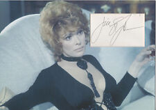 JILL ST JOHN Signed 12x8 Photo Display TIFFANY CASE in DIAMONDS ARE FOREVER COA