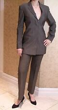 Vintage 90's Gucci Dark Grey Tailored Trousers 40 UK 8 - 10 Smart Office Suit