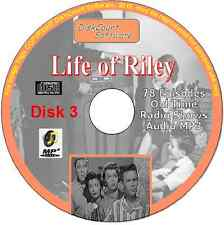 Life of Riley - 239 episodes on 3CDs Old Time Comedy Radio Shows Audio MP3 OTR