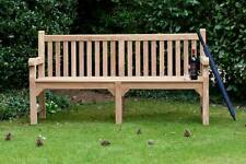 Wooden Park Bench Quality Teak 4 Seater Garden Benches Outdoor Furniture Seat