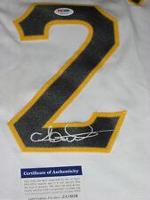 ANDREW McCUTCHEN Signed WHITE Pittsburgh PIRATES Replica Jersey w/ PSA COA