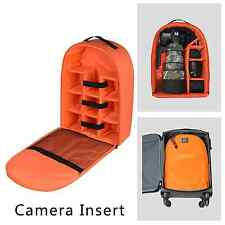 Camera Insert Partition Padded Bag Case for DSLR SLR Lens Large Backppack insert