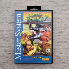 Street Fighter for Sega Master System - Rare Brazilian Game
