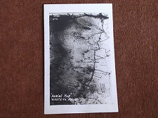 High Altitude Aerial Bird's Eye View of Western Front Near End of WWI/RPPC