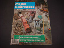 The Model Railroader Magazine,Mar 1977,Cobwebs, Dust & Ashes RR,IC Warning Flash