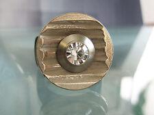 "Metall-Scheibe - ""Rillen""- kompatibel m. Charlotte 21 u.a."