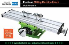 Precision Milling Drilling drill press Machine Bench Vise Worktable multifunctio