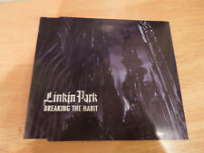 Linkin Park Breaking The Habit RARE CD Single