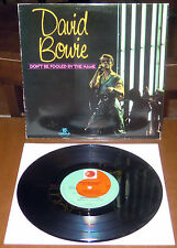 "LP 10"" DAVID BOWIE Don't be fooled by the name (Prt 81 UK) 1st ps EX!"