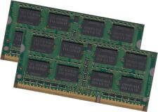 Samsung 8gb 2x 4gb ordinateur portable ddr3 ram Mémoire 1066 MHz 1067 8500s 204pin