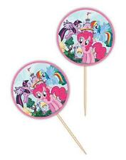 Wilton  MY LITTLE PONY BIRTHDAY PARTY FUN PICKS Disney Theme  PKG., OF 24