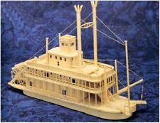 MISSISSIPPI RIVERBOAT - Matchmaker Matchstick Model Craft Construction Kit - NEW