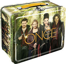 Once Upon A Time TV Series Cast Photo Cover Tin Tote Lunchbox, NEW UNUSED