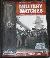 EAGLEMOSS MILITARY WATCHES - ISSUE 6 - FRENCH SEAMAN WATCH 1960s - BNIB