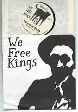 "WE FREE KINGS Love is in the air/ Death of the...FRENCH 7"" w/PS HOWL! Rds - punk"