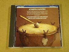 CD TELDEC / JOSEPH HAYDN - SYMPHONIE NR. 103 & 104 / HARNONCOURT