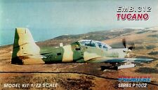 Premiere 1/72 Kit De Modelismo 1002 Embraer EMB-312 Tucano Brazilian Air Force
